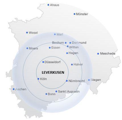 Seniorenbetreuung-Leverkusen-Betreuungsgebiete